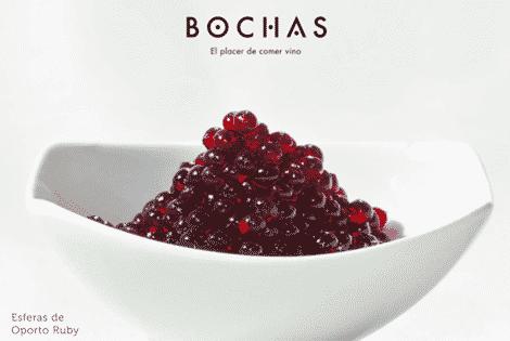 bochas de cádiz, caviar de vino