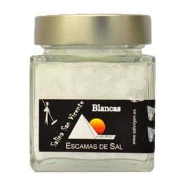 Buy Spanish white salt flakes– San Vicente saltworks 180g