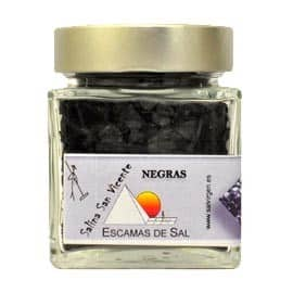 Buy Spanish Black salt flakes– San Vicente saltworks 180g
