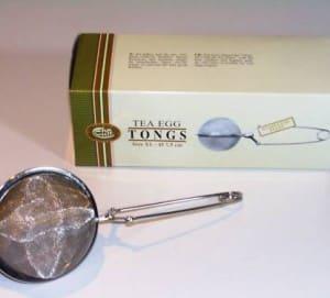 infusionador de té de acero