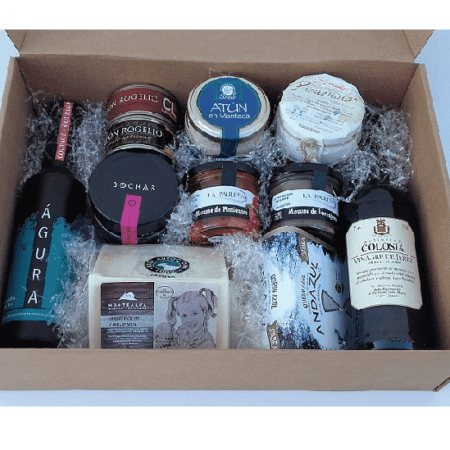 Lot-Spanish gourmet products -business gift set