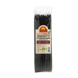 espaguettis con algas