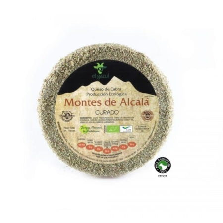buy spanish Organic cured cheese with rosemary Montes de Alcalá