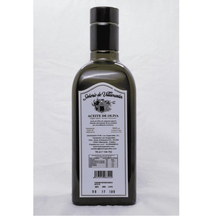 aceite de oliva virgen extra Señorío de Villamartín