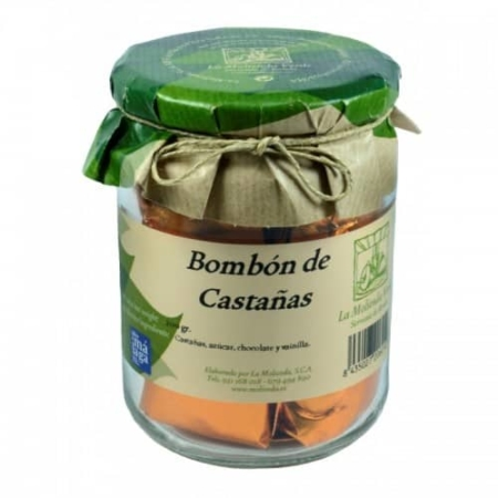 Buy chestnut chocolate Spain la-molienda-verde