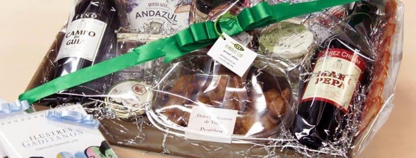 cesta personalizada gourmet Alándalus Club