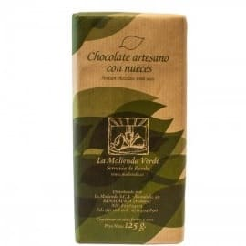 Buy artisan Chocolate with nuts La Molienda Verde