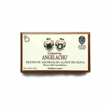 buy spanish Anchovies fillets Conservas Angelachu