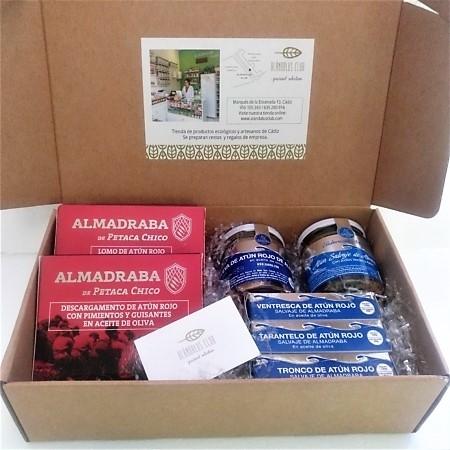 lote-atún-rojo-lote-especial-regalos de empresa, caja de regalo gastronómica