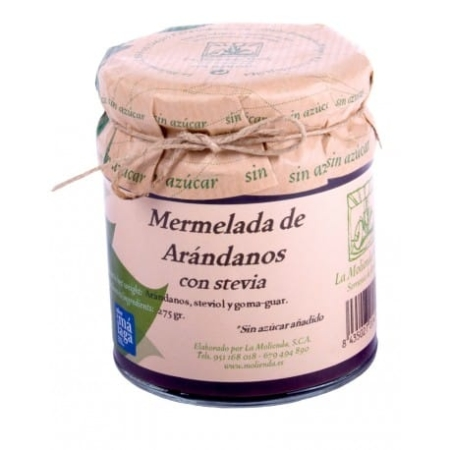 buy Cranberry jam with stevia La Molienda Verde