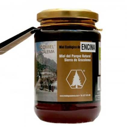 buy Holm oak honey from Spanish Sierra de Grazalema 500g