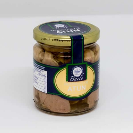 morrillo de atún en aceite de oliva baelo