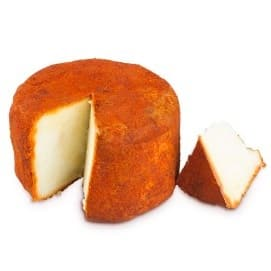 Buy Spanish Cured payoya goat cheese with Paprika- Villaluenga del Rosario
