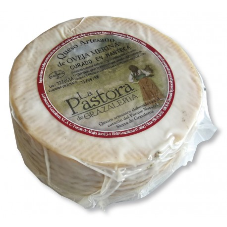 buy Cured Sheep Cheese in lard – La Pastora de Grazalema.