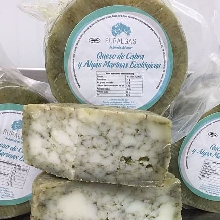 buy semi-cured organic cheese with seaweed