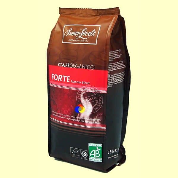 buy Spain Organic Ground Coffee Forte Tradición - Simon Lévelt