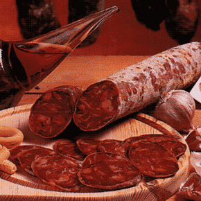 chorizo de bellota loncheado ibérico Hermanos Cardeno