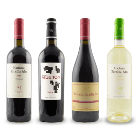buy hacienda parrilla altan spanish wine lot