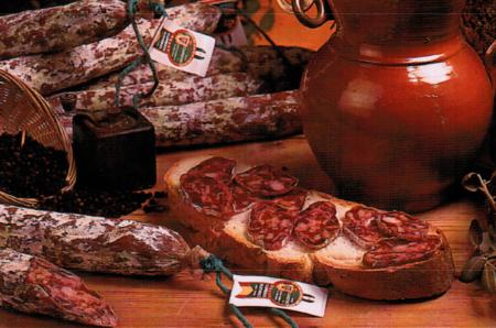 buy Spanish  Iberian acorn-fed Salchichon