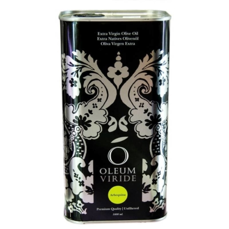 buy spanish Extra virgin olive oil Oleum Viride Monovarietal Arbequina