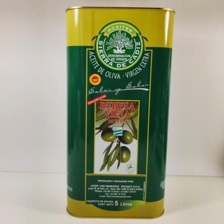 Aceite de oliva virgen extra Olivar Sierra De Cádiz Denominación de Origen