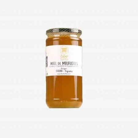 buy bio multifloral honey BEE TARIFA 1kg