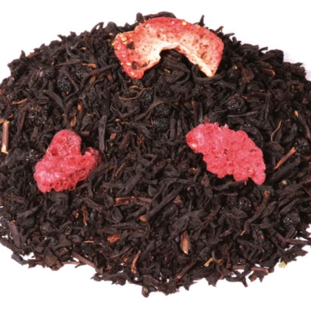 Buy gourmet Black tea strawberry and cava Alveus