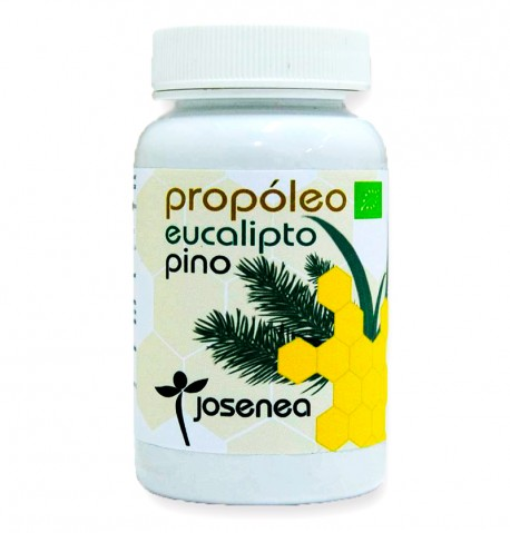 Organic Propoleo - propolis pills - eucalyptus and pine Josenea