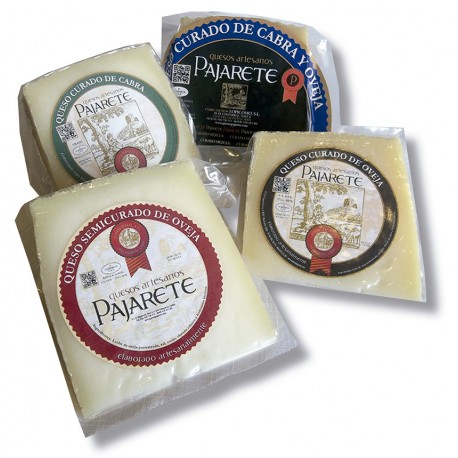 Buy pajarete cheese assortment. Goat and sheep