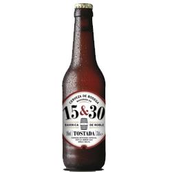 Cerveza 15&30 TOSTADA Barrica de Roble