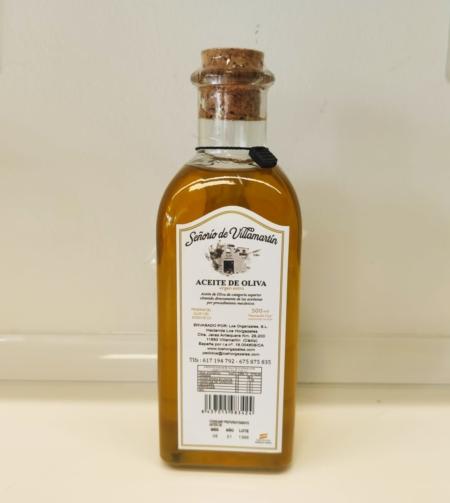 Aceite de oliva virgen extra 'Gran Selección'. Señorío de Villamartín