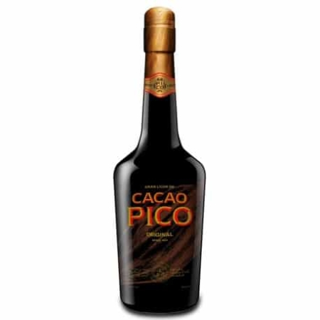 cacao pico liquor chocolate alcohol shop gourmet spain