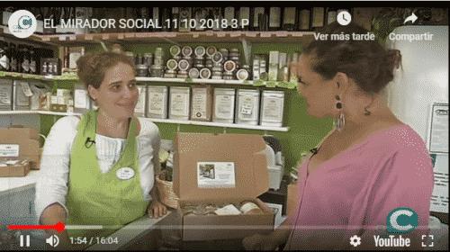 el mirador social Alandalus Club en la televisión local