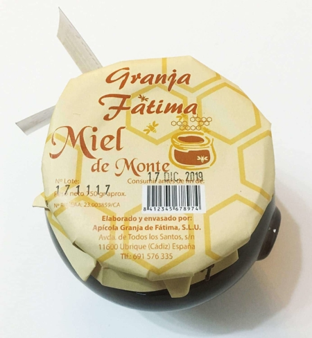 buy Mountain Honey Granja Fatima Ubrique 500g gourmet product