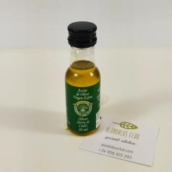 monodosis de aceite de oliva virgen extra de la Sierra de Cádiz