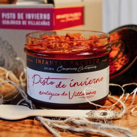 Pisto de invierno manchego Villacañas caviar de tomate