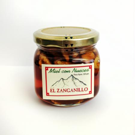 Honey with nuts El  Zanganillo 220g
