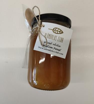 Miel con panal pura