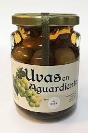 comprar uvas en aguardiante licores Grazalemeños