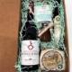cesta especial gourmet, caja de regalo