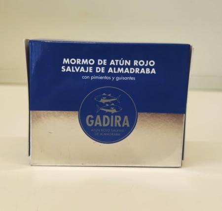 Mormo atún rojo de almadraba en aceite de oliva 320g. GADIRA
