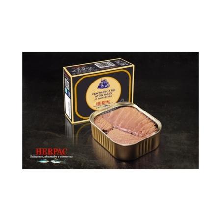 Ventresca de atún rojo en aceite de oliva HERPAC