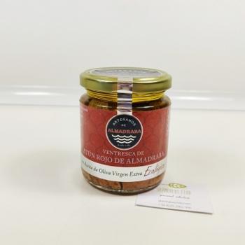 Acheter Ventre de thon rouge de la madrague 250g - Artesanos de Almadraba