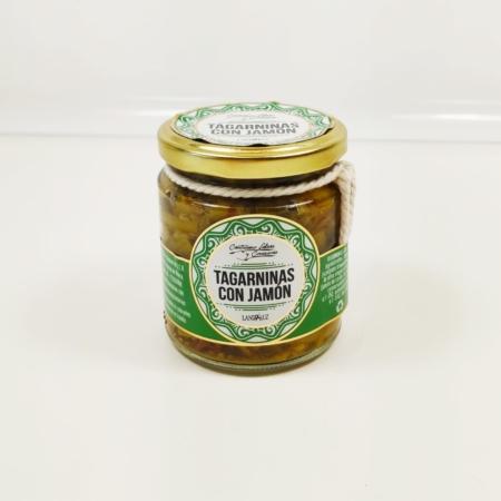 Tagarninas con jamón - Salsas y Conservas Cantizano