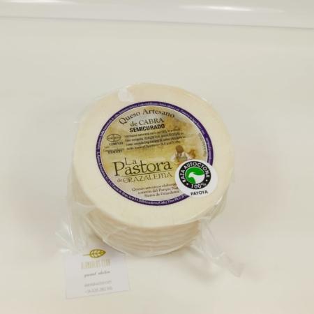 Queso de cabra semicurado 1,1kg - La Pastora