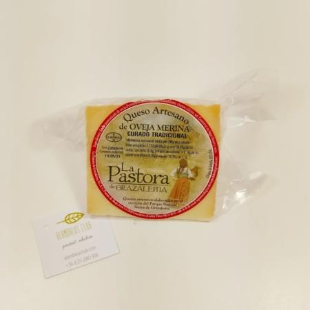 Queso de oveja merina curado tradicional 260g - La Pastora