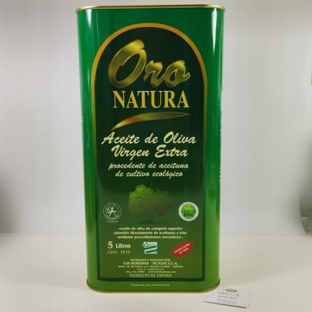 Aceite de Olvera ecológico Oro NAtura, Sierra de Cádiz