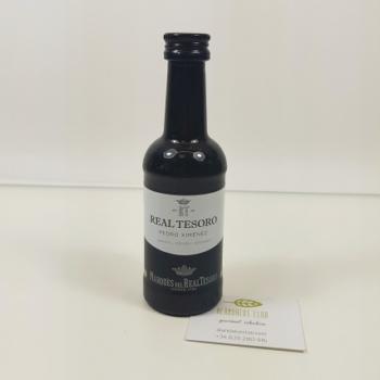 Acheter Vin Pedro Ximénez en miniature 100ml - Real Tesoro