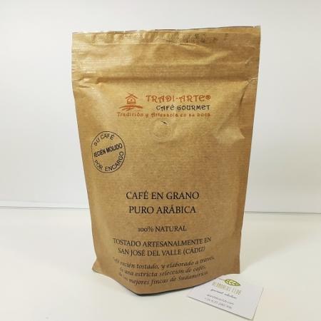 café en grano recién molido Tradiarte