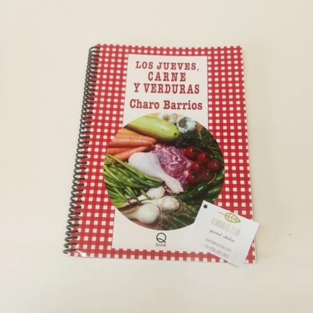 los jueves, carnes y verduras, Charo BArrios, libro de cocina. recetas